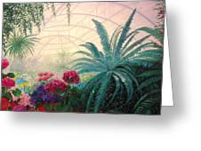 The Green House Greeting Card