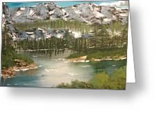 The Green Lake Greeting Card
