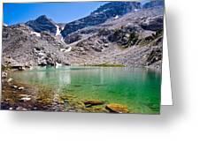 The Green Of Treasure Lake 3  Greeting Card