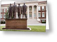 The Greensboro Four February One Monument Greeting Card