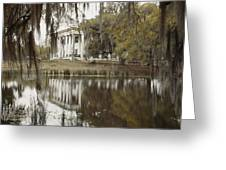 The Greenwoood Plantation Home Greeting Card by J. Baylor Roberts