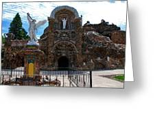 The Grotto Of Redemption In Iowa Greeting Card
