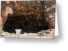The Grotto Of The God Pan Greeting Card