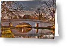 The Grove Bridge On The Grand Union Canal  Greeting Card