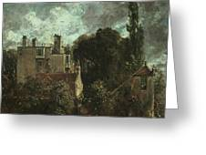 The Grove Or The Admiral's House In Hampstead Greeting Card