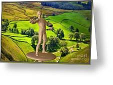 The Guardian Of The Valley Greeting Card