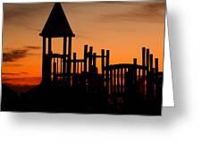 The Gulf Graveyard Greeting Card