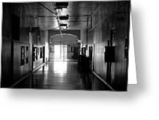 The Hallway Greeting Card