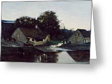 The Hamlet Of Optevoz Greeting Card