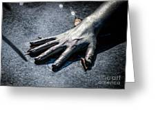 The Hand Greeting Card