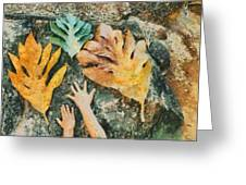 The Hands 2 Greeting Card