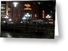 The Hard Rock At The Inner Harbor Greeting Card