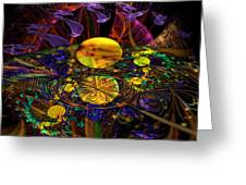The Harmony Of Truly Cosmic Spheres Greeting Card