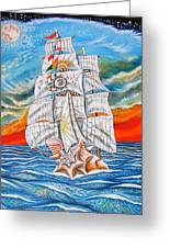 The Harvest Conchquest Greeting Card