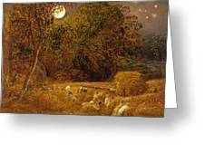 The Harvest Moon Greeting Card