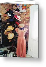 The Hat Rack Greeting Card