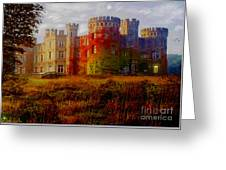 The Haunted Castle Greeting Card
