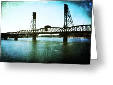 The Hawthorne Bridge Greeting Card