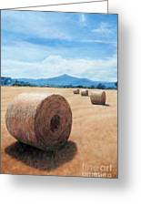 The Haystack Greeting Card