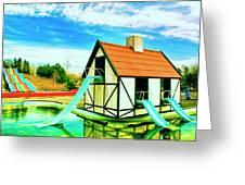 The Hazmat Water Park Greeting Card