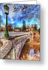 The Headless Horseman Bridge Greeting Card