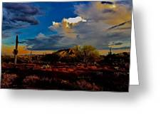The Heart Of Cave Creek Greeting Card