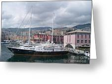 The Heart Of Genova. Greeting Card