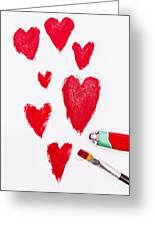 The Heart Of Love Greeting Card