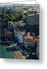The Heart Of Sorrento Greeting Card