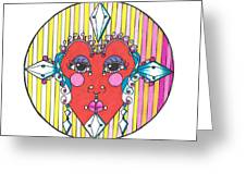 The Heart Queen Greeting Card