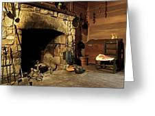 the Hearth Greeting Card