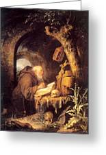 The Hermit 1670 Greeting Card
