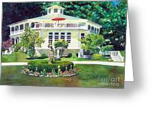 The Hexagon House Greeting Card