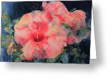 The Hibiscus Greeting Card