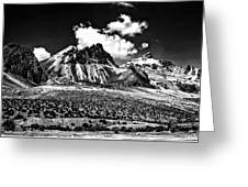 The High Andes Monochrome Greeting Card