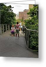 The High Line 164 Greeting Card