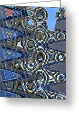 The High Road,abstract Greeting Card