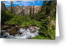 The Hike Down Greeting Card