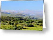 The Hills Of Southern Ireland Greeting Card