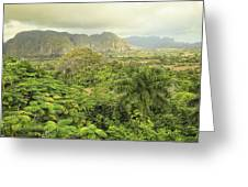The Hills Of Vinales Greeting Card