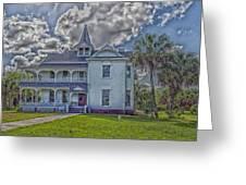 The Historic Rabb Plantation Home Greeting Card