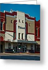 The Historic Texas Theatre Greeting Card