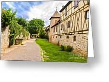 Riquewihr, Alsace, France  Greeting Card
