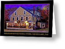 The Holderness General Store Greeting Card