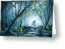 The Hollow Road Greeting Card