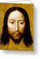 The Holy Face Greeting Card by Flemish School