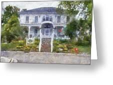 The Homes Of Mackinac Island Michigan 04 Pa Greeting Card