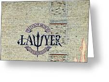 The Honest Lawyer Greeting Card