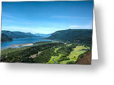 The Hood River  Greeting Card