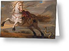 The Horse And The Snake Greeting Card